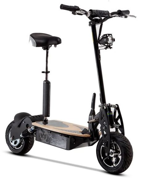 chaos sport 48 volt 1600w electric scooter