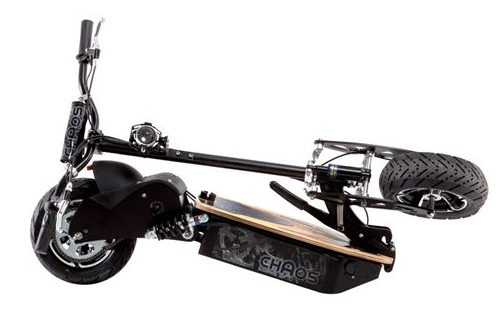 chaos sport big wheel electric scooter